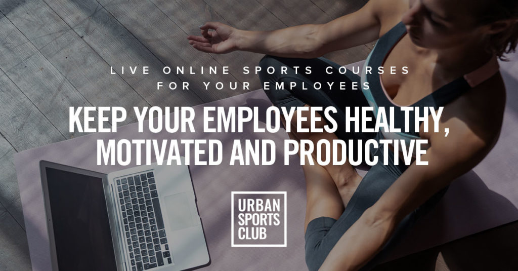 Live online sports courses - Urban Sports Club